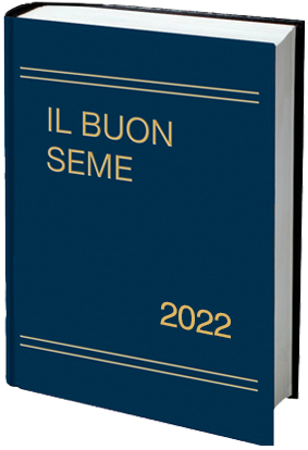 Calendario cristiano Il Buon Seme 2022 libro copertina rigida