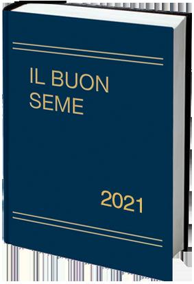 Calendario cristiano Il Buon Seme 2021 libro copertina rigida