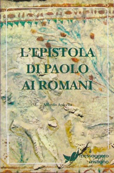 Libro cristiano Epistola di Paolo ai Romani