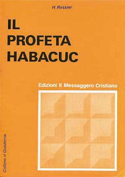 Libro cristiano il Profeta Habacuc
