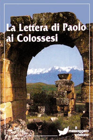 Libro cristiano La lettera di Paolo ai Colossesi