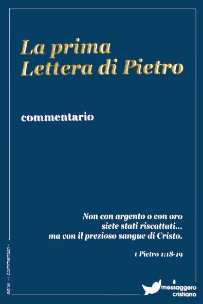 Libro cristiano La prima lettera di Pietro