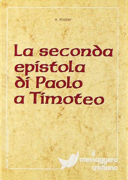 Libro cristiano La seconda epistola di Paolo a Timoteo