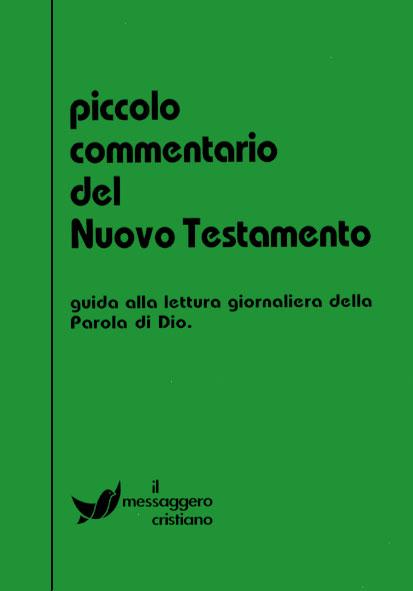 Libro cristiano Piccolo commentario del Nuovo Testamento