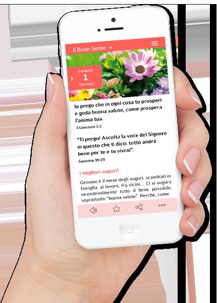 App mobile Calendario Il Buon Seme